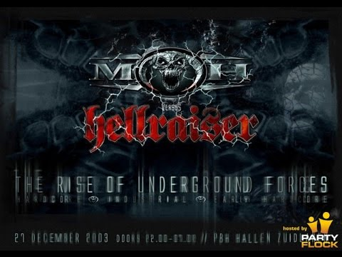 Video Angerfist Live - MOH vs Hellraiser the raise of the underground 20-12-2003 download in MP3, 3GP, MP4, WEBM, AVI, FLV January 2017