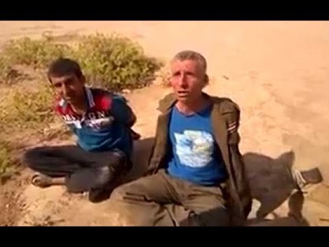Iraqi soldiers brutally questioned and 'killed' in Isis video