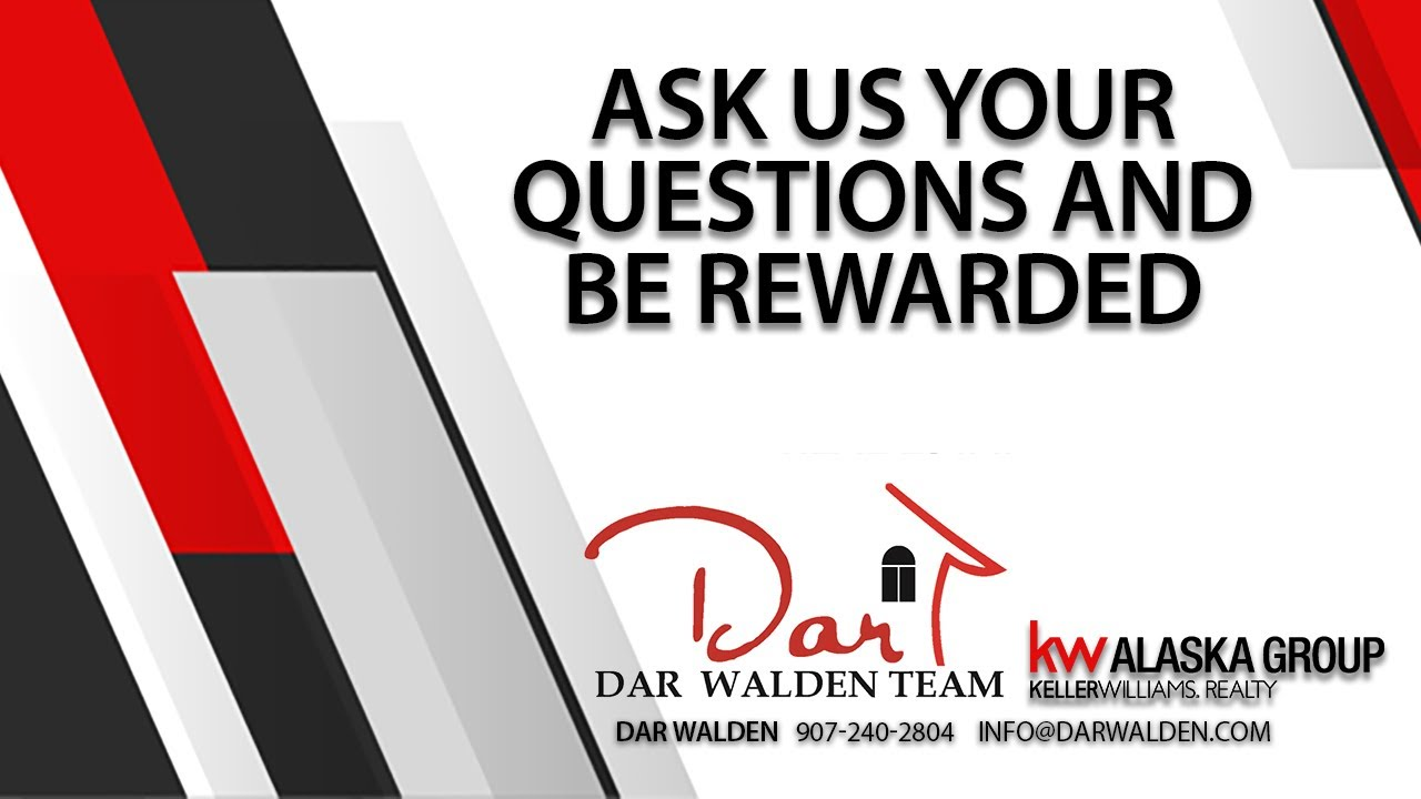 Be Rewarded for Asking Us Your Real Estate Questions