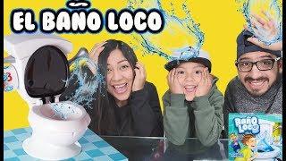 Jugando Al Baño Loco | Family Juega