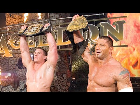 Batista and John Cena unite for a superteam: Armageddon 2006