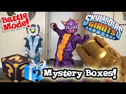 Costumes - Click here to see what was in BOX #2: http://youtu.be/YiVvxKyjvGA We got to more mystery boxes from Activision. The kids opened the first one to find some co...