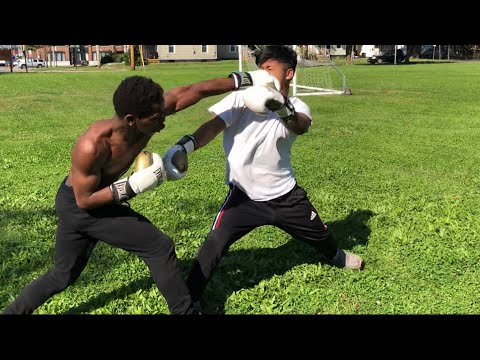 Boxer Vs Street Fighters (street Boxing )