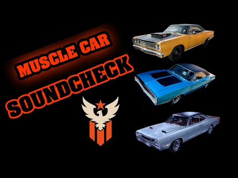 AMERICAN MUSCLE CARS – EXHAUST SOUNDS