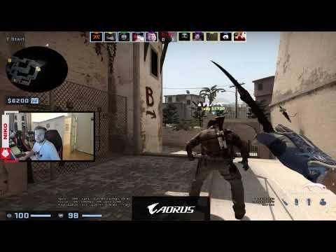 G2 Niko Stewie2k Plays FPL Faceit Mirage - CSGO Twitch Clips