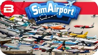 SIM AIRPORT Gameplay - 20 SCHEDULED FLIGHTS!!! Lets Play SIMAIRPORT Alpha #13