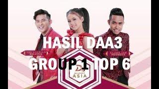 WOW FILDAN Tertinggi! HASIL DAA3 TOP 6 Sementara Tadi Malam