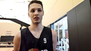 Evan Fournier Nike Hoop Summit Interview
