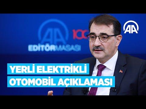 Enerji ve Tabii Kaynaklar Bakanı Dönmez'den 'yerli elektrikli otomobil' açıklaması