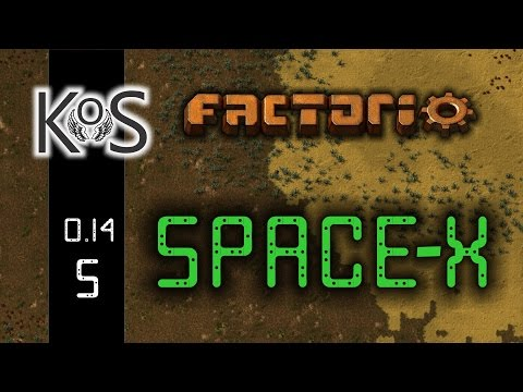 Factorio 0.14 Space-X Mod, Ep 5: Nanobot Automation – Let's Play, Gameplay