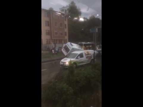 Rize'de Ambulans ile Gürcü Otomobil Çarpıştı 1 Bebek Öldü, 5 Yaralı