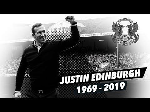 A Tribute To Justin Edinburgh (1969-2019)