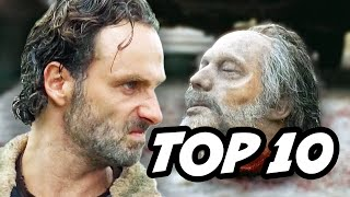 Walking Dead Season 6 Episode 12 - TOP 10 WTF and Easter Eggs