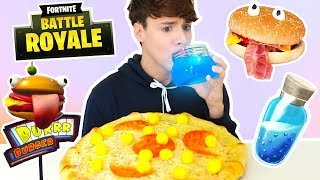 Video i only ate FORTNITE FOODS for 24 hours !!! MP3, 3GP, MP4, WEBM, AVI, FLV Juli 2018