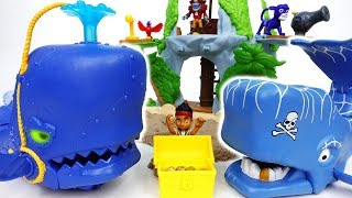 Video Pirate Whale VS Super Creature Whale~! Jake, Defeat Pirates With The Whale - ToyMart TV MP3, 3GP, MP4, WEBM, AVI, FLV Oktober 2018