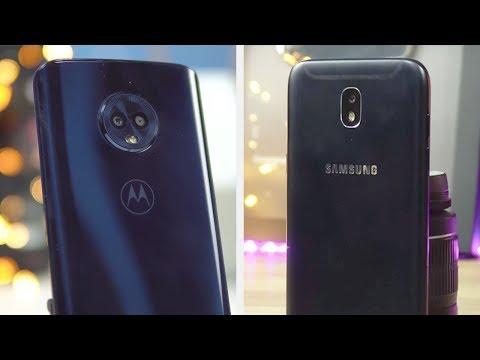 Tudocelular - Moto G6 vs Galaxy J5 Pro  Comparativo!