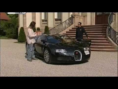 Bugatti Veyron Тест Bugatti Veyron EB