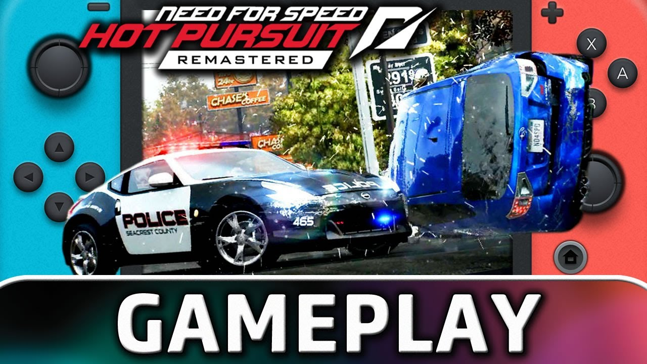 Need for Speed: Hot Pursuit   Nintendo Switch Gameplay and Frame Rate