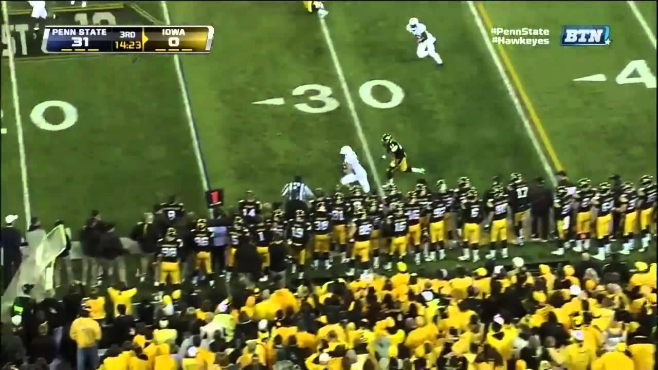 Michael Mauti vs Iowa (2012)