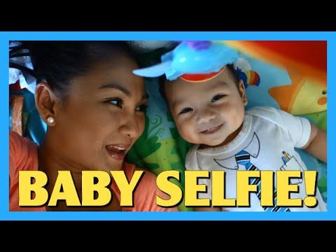 Baby Selfie!