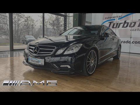 Mercedes-Benz E350 CDI AMG Coupe