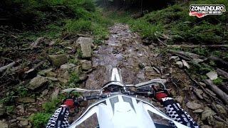 4. GoPro: GasGas EC200 vs GasGas EC 300. Extreme Enduro river