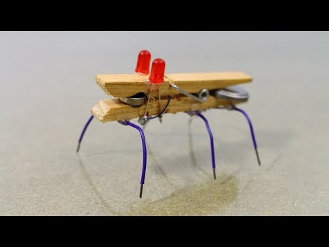 How to Make a Super Simple DIY Mini Robot Bug at