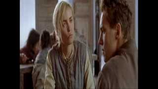 Radha Mitchell and  Jonathan Rhys Meyers in The Children of Huang Shi (2008):
