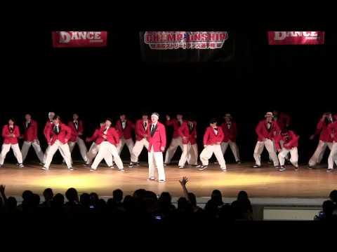 上宮中学校高等学校ストリートダンス部 X←LiMiT (ADHIP高校選手権2015)