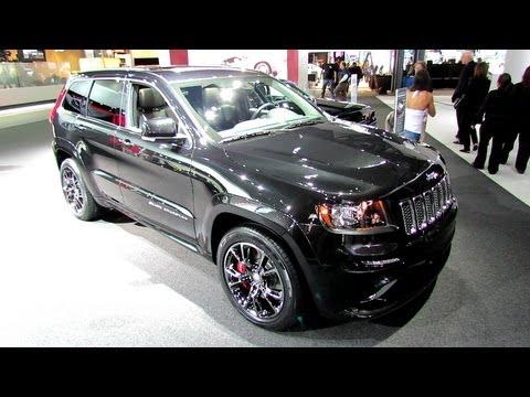 Jeep  2012 Jeep Grand Cherokee SRT8 Exterior and Interior at 2012 New York Auto Show