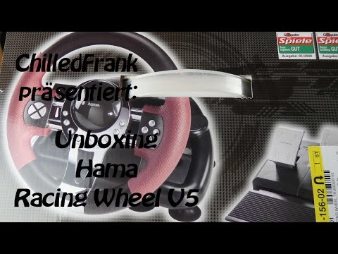 Unboxing Hama Thunderwheel V5 [deutsch/HD]