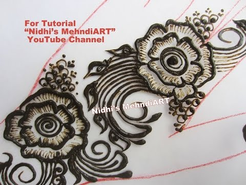 Video How to Do Shading in Rose Flower Arabic Henna Mehndi Design Tutorial download in MP3, 3GP, MP4, WEBM, AVI, FLV January 2017