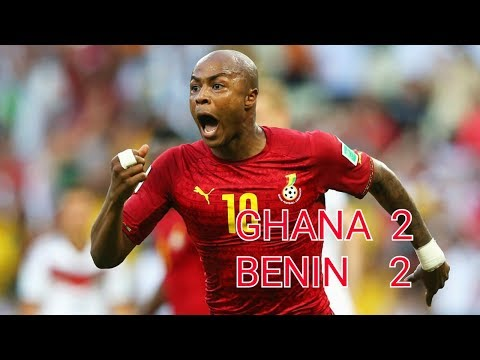 AFCON 2019| GHANA VS BENIN 2:2| ALL GOALS AND HIGHLIGHTS ENGLISH COMMENTARY