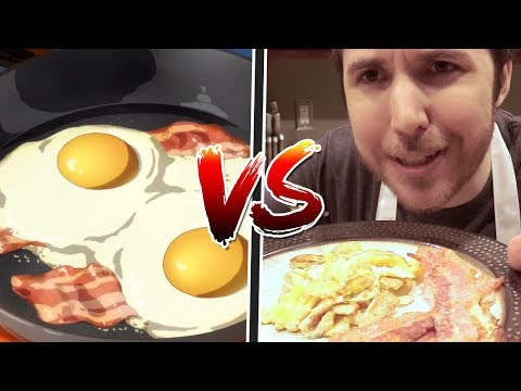 ANIME FOOD Vs REAL FOOD (why Does Anime Food Look So Much Better?)