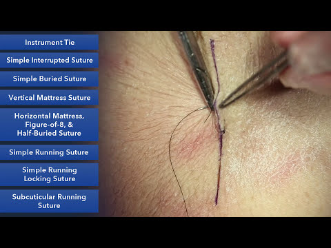Suture Skills Course - Learn Best Suture Techniques