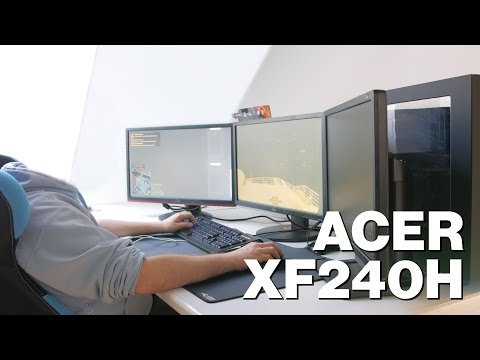 Acer XF240H Reviewed - 144Hz, FreeSync Compatible Gaming Monitor