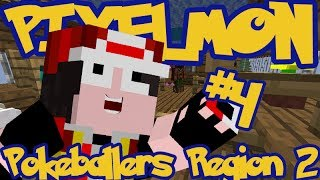 Minecraft Pixelmon: Pokeballers Server Region 2 - Episode 4 - LOSER RAGE