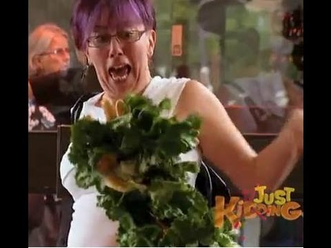 Salad Monster Hand Prank