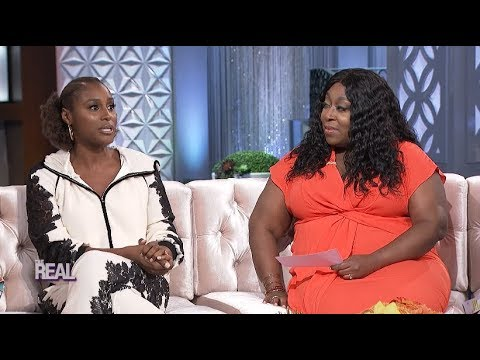 Issa Rae's First Visit to The Real And She Spills All The Tea!