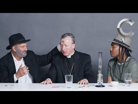 A Rabbi, a Priest and an Atheist Smoke Weed Together | Strange Buds | Cut