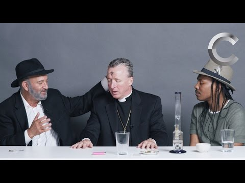 A Rabbi a Priest and an Atheist Smoke Weed