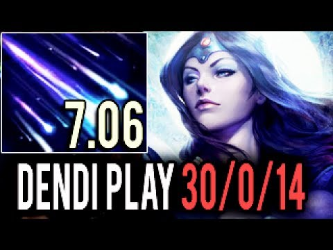 WTF! Dendi is NOT Human! Impossible Mirana 30 Kills 0 Deaths 1k GPM Machine Gun Gameplay Dota 2