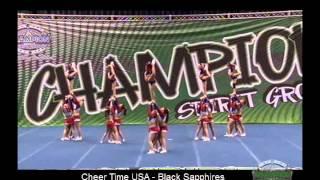 Morton (IL) United States  city photo : Cheer Time USA - Black Sapphires, Senior Level 3 (Morton, IL)