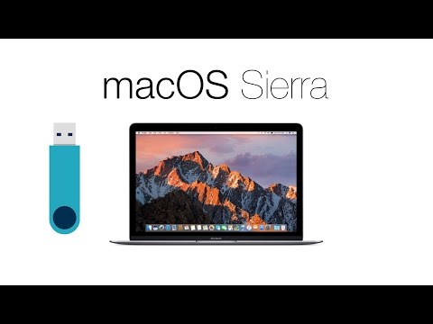 How To Install macOS Sierra Using USB Drive