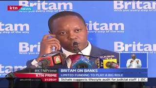 KTN Prime: Interest Capping Law To Push Merger Says Britam, 27/9/2016