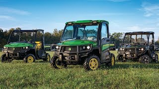 7. Introducing the New 2018 John Deere XUV835, XUV 865, HPX615 and HPX815 Model Gators