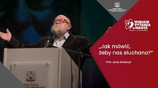 Video Jak mówić, żeby nas słuchano? - Prof. Jerzy Bralczyk MP3, 3GP, MP4, WEBM, AVI, FLV November 2018