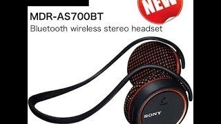 Video The Smart Way To Listen To The Music - SONY MDR-AS700BT BLUETOOTH HEADPHONES MP3, 3GP, MP4, WEBM, AVI, FLV Juli 2018