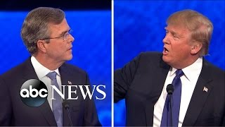 Video Trump Elicits Boos After Spat With Bush [Republican Debate Highlights] MP3, 3GP, MP4, WEBM, AVI, FLV September 2019
