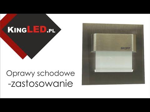 Oprawa schodowa LED SKOFF TANGO #13 - Poradnik od KINGLED_pl